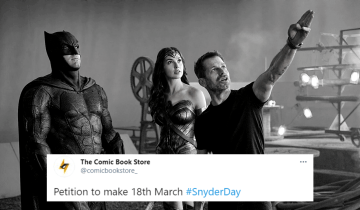 Make 18th March Snyder Day in honor of Zack Snyder