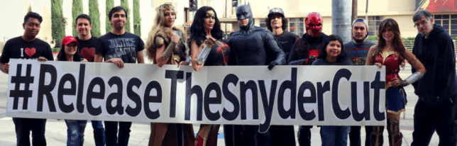 #SnyderCut supporters