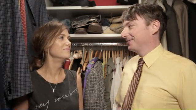 Kristen Wiig Spends 7 Minutes In Heaven With Mike OBrien