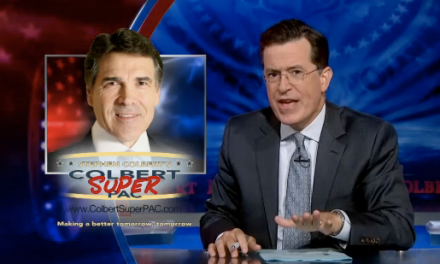 Stephen Colbert addresses Rick Perry's poaching of Colbert Super PAC treasurer