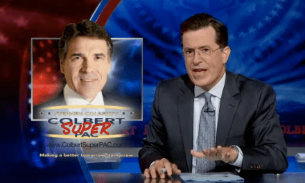 Stephen Colbert addresses Rick Perry's poaching of Colbert Super PAC treasurer