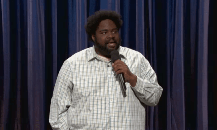 Ron Funches makes his TV debut on Conan