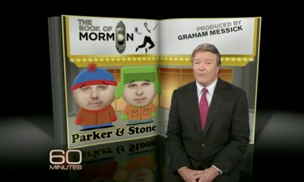 Matt Stone and Trey Parker receive the 60 Minutes profile treatment