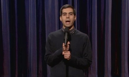 On Conan, Brent Weinbach proves again why he has won the Andy Kaufman Award
