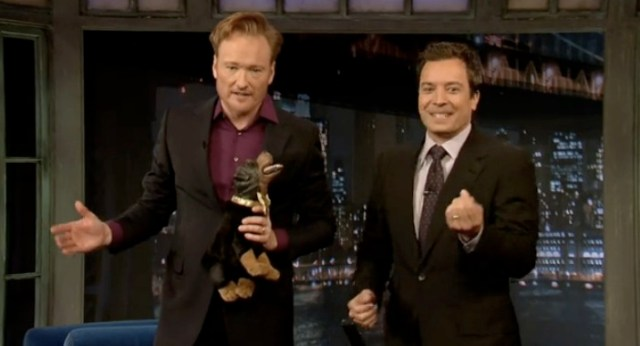 conan o'brien makes a cameo at late night with jimmy fallon | the
