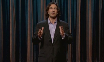 On Conan, Gary Gulman fondly recalls the Discman