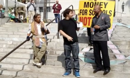 "Occupy Comedy: Jeffrey Ross roasts, Jamie Kilstein goes ""undercover,"" John Oliver is the 98%"