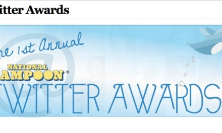 National Lampoon's first Twitter Awards: Who won?