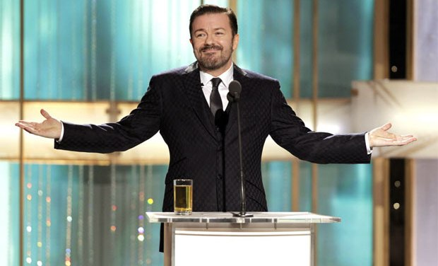 Ricky Gervais to return as Golden Globes host for 2012