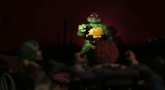 TMNT comedy? Raphael as an open-mic stand-up
