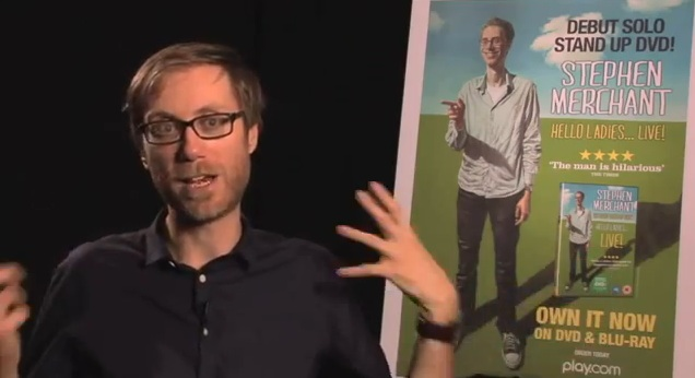 Ticket giveaway: See Stephen Merchant on his first stand-up tour to NYC