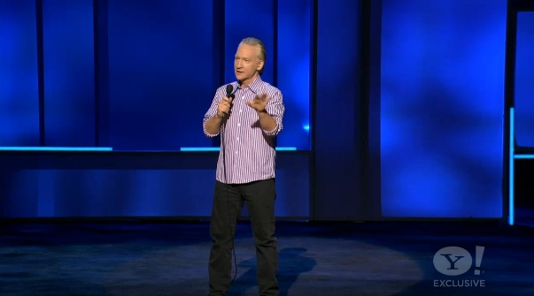 Bill Maher launches Yahoo!'s live comedy channel