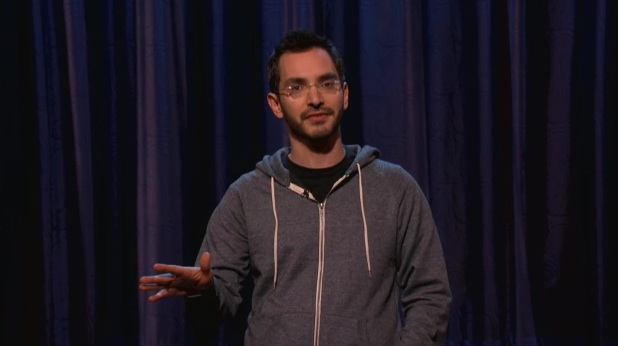 WWJD? Myq Kaplan explains why not on Conan