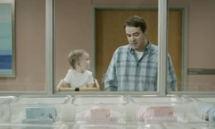 Nick Cobb joins E*Trade baby Pete Holmes in new Super Bowl ad