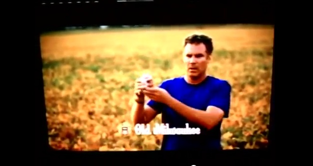 Will Ferrell's two new beer commercials, one of which is real (for part of Nebraska)
