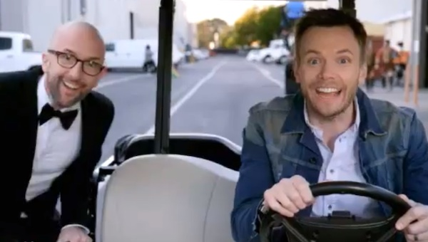 Watch the return of Community live with Joel McHale at Carolines on Broadway