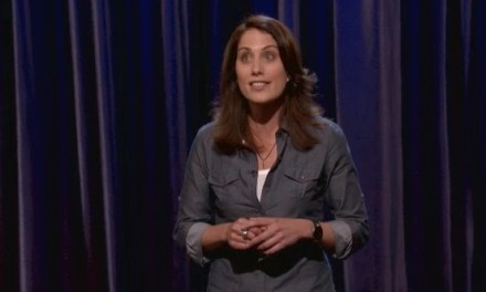 Erin Foley's late-night TV debut on Conan
