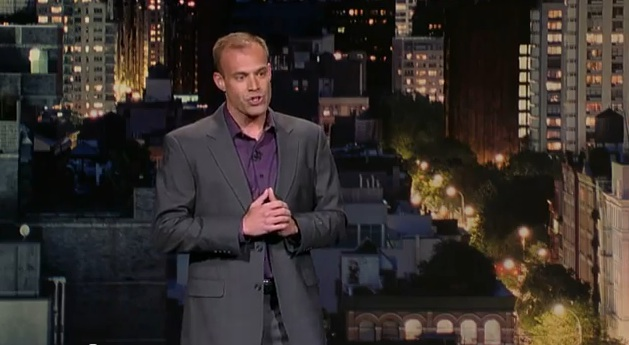 Keith Alberstadt on Late Show with David Letterman