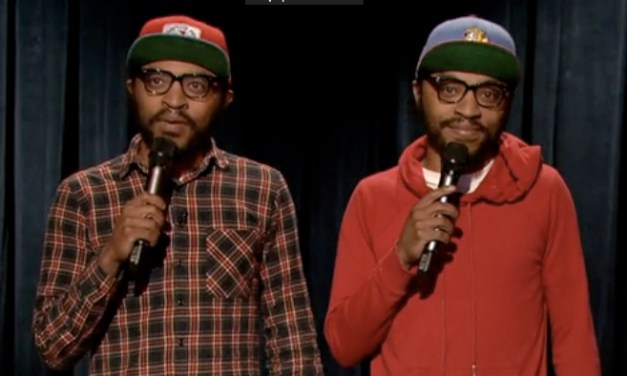 The Lucas Brothers make their network TV debut on Late Night with Jimmy Fallon