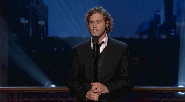 TJ Miller on Conan in Chicago