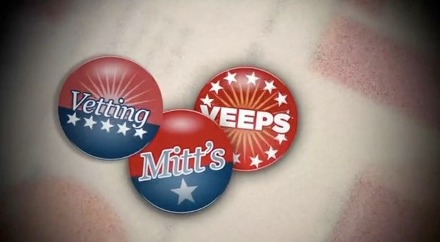 "A topical webseries: ""Vetting Mitt's Veeps"""