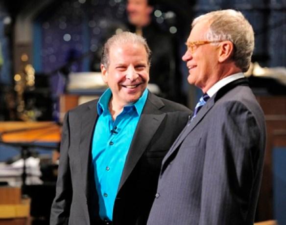 Eddie Brill and David Letterman