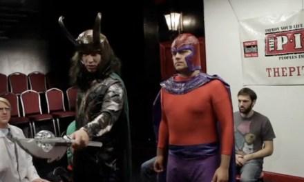Comic book villains take an improv comedy class