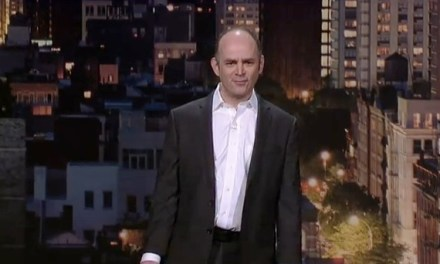 "Todd Barry on Letterman: ""Super Crazy"""