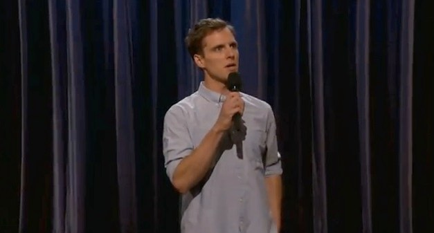 Andy Haynes on Conan