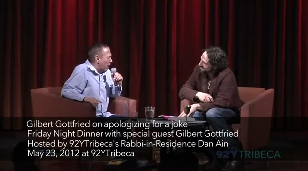 Apologizing for a joke: Gilbert Gottfried repents for his Japan tsunami Tweet