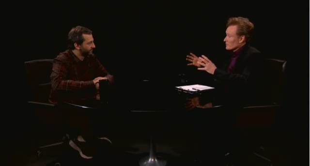 "Judd Apatow sits down for ""Serious Jibber-Jabber"" with Conan O'Brien"