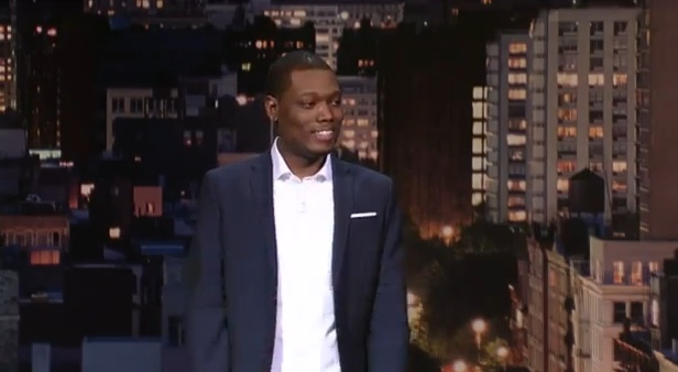 Michael Che's network TV debut on Late Show with David Letterman