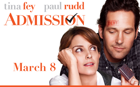 "Movie trailer: ""Admission"""