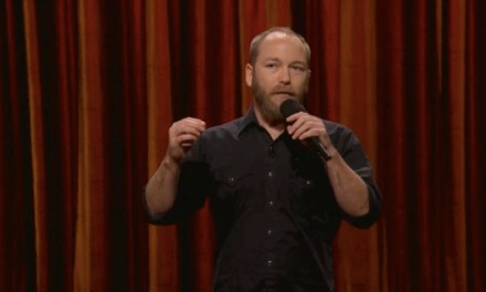 On Conan, Kyle Kinane conjures up spirits and gangland nature hikes