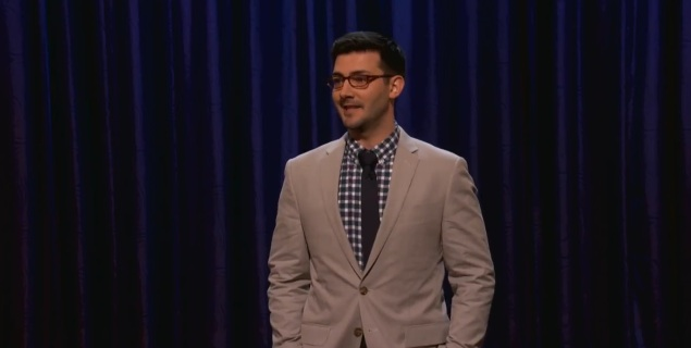 On Conan, Tommy Johnagin discusses new fatherhood