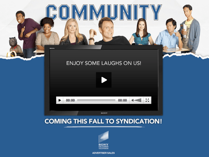 NBC's Community: Four Seasons and Syndication!?
