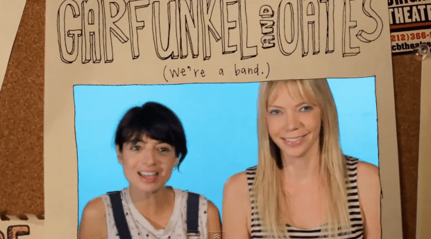 Animated stories: When Garfunkel & Oates met John Oates