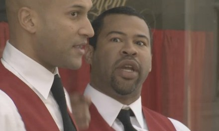 "Key & Peele celebrate their favorite ""Bruce Willie"" ""Die Hard"" moments"