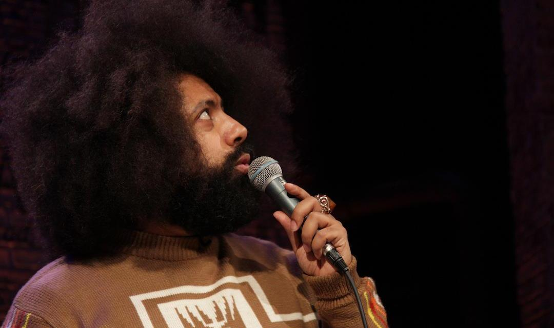 """Reggie Watts performs on """"Totally Biased with W. Kamau Bell"""""""