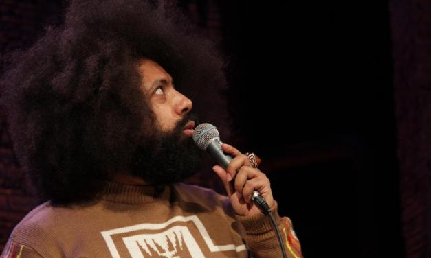 "Reggie Watts performs on ""Totally Biased with W. Kamau Bell"""