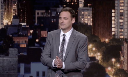 Andy Hendrickson's network TV debut, on Late Show with David Letterman