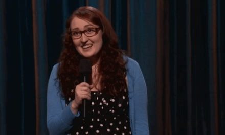 Emily Heller's late-night TV debut on Conan