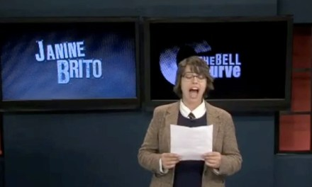 """Previously unreleased clip from the """"Totally Biased"""" pilot presentation: Janine Brito apologizes as Tracy Morgan"""