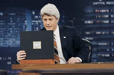 What do you think Jimmy Kimmel thinks about NBC replacing Leno with Fallon?