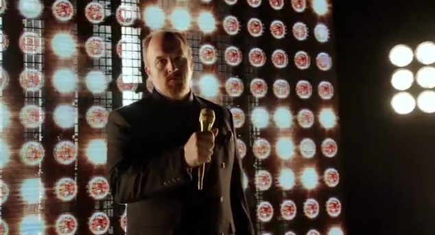 "Louis C.K. has it both ways in his meta-narrative trailer for ""Oh My God"" HBO special"
