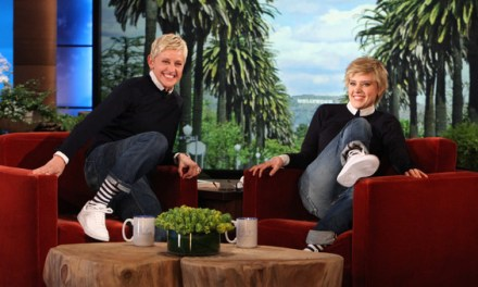 "Kate McKinnon dances for Ellen DeGeneres as Ellen on ""Ellen"""