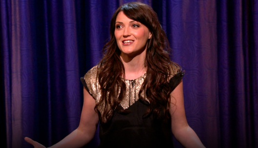 On Conan, Jen Kirkman weaves tales of a modern-day divorcee