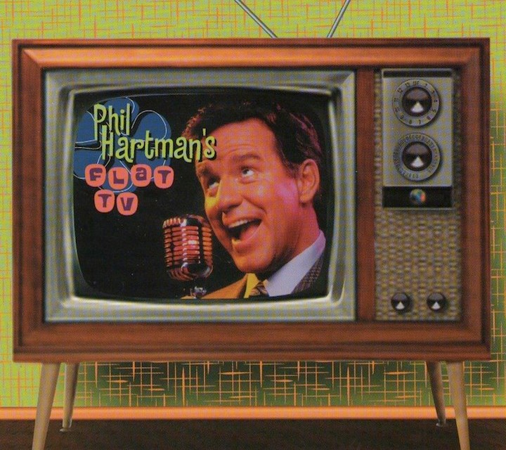 "Rare posthumous recording from the 1970s, ""Phil Hartman's Flat TV,"" to receive animation treatment"