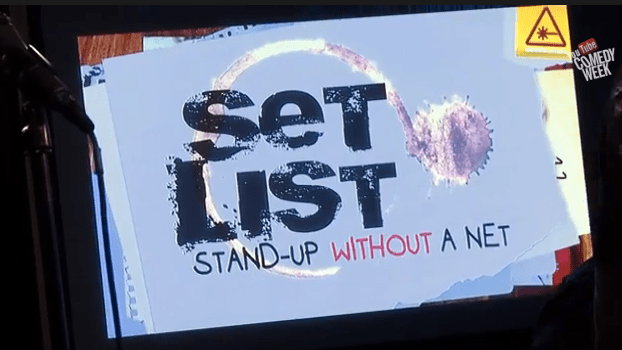 Set List live improvised stand-up shows come to Nerdist, with a special LIVE show for YouTube Comedy Week