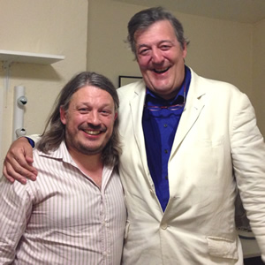 Stephen Fry discusses the surreal but very real thoughts of suicide